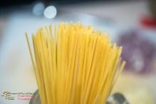 Linguine aglio olio mit Sardellen