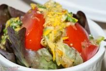 Tomaten-Zucchini-Salat mit Staudensellerie