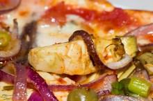 Pizza Gorgonzola Sardellen