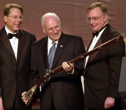 Dick Cheney with Gun