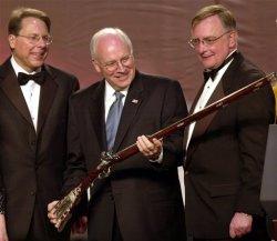 Dick Cheney with Gun