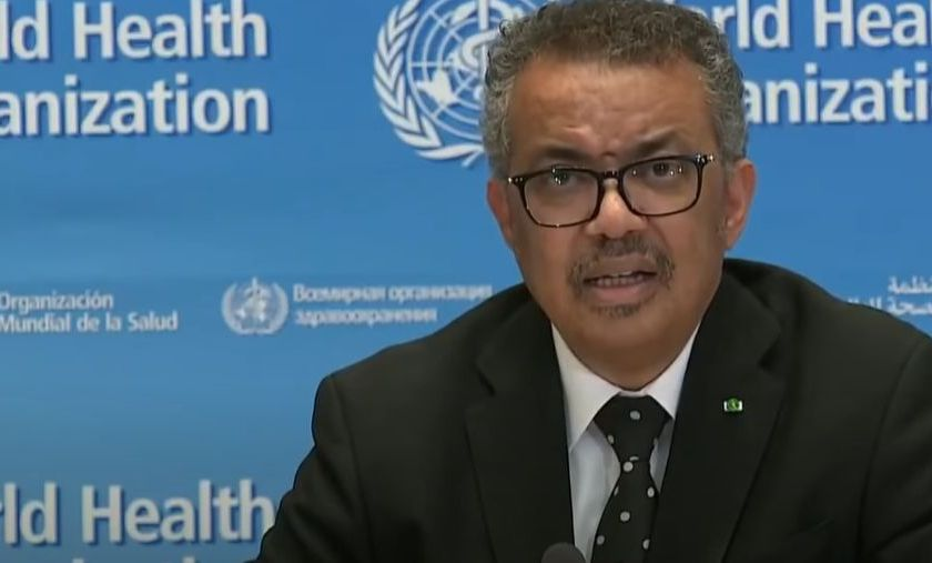 WHO Director-General Dr. Tedros Adhanom Ghebreyesus
