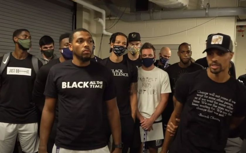 Milwaukee Bucks Strike for Black Lives