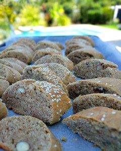 greek paximadia are a twice baked traditional biscotti