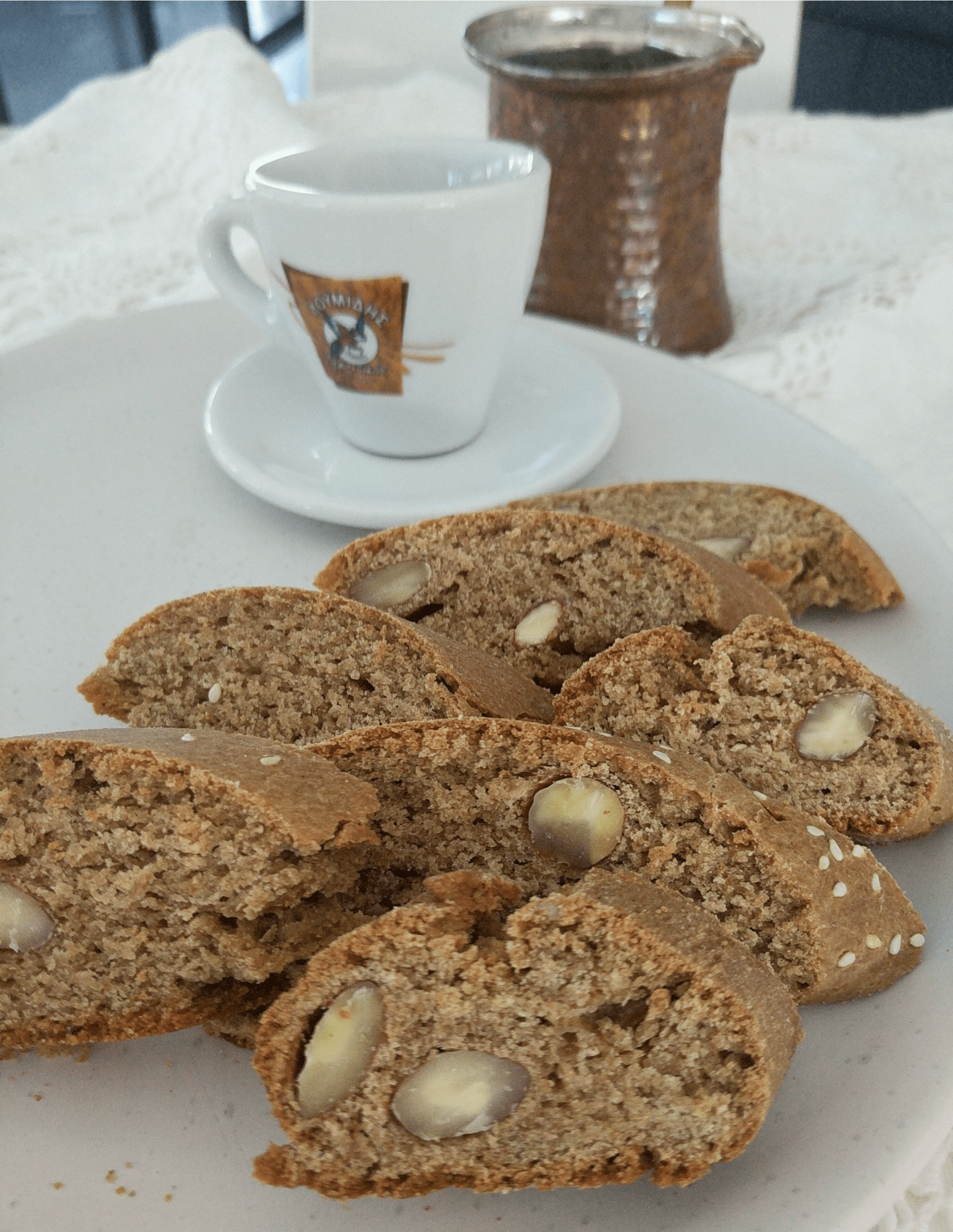 Authentic Greek Paximadia ( Biscotti Cookie ) Recipe