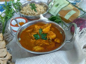 chicken curry tikka