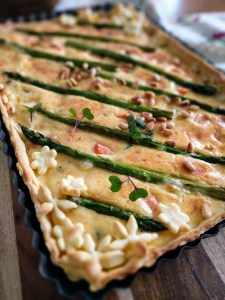 healthy easy quiche