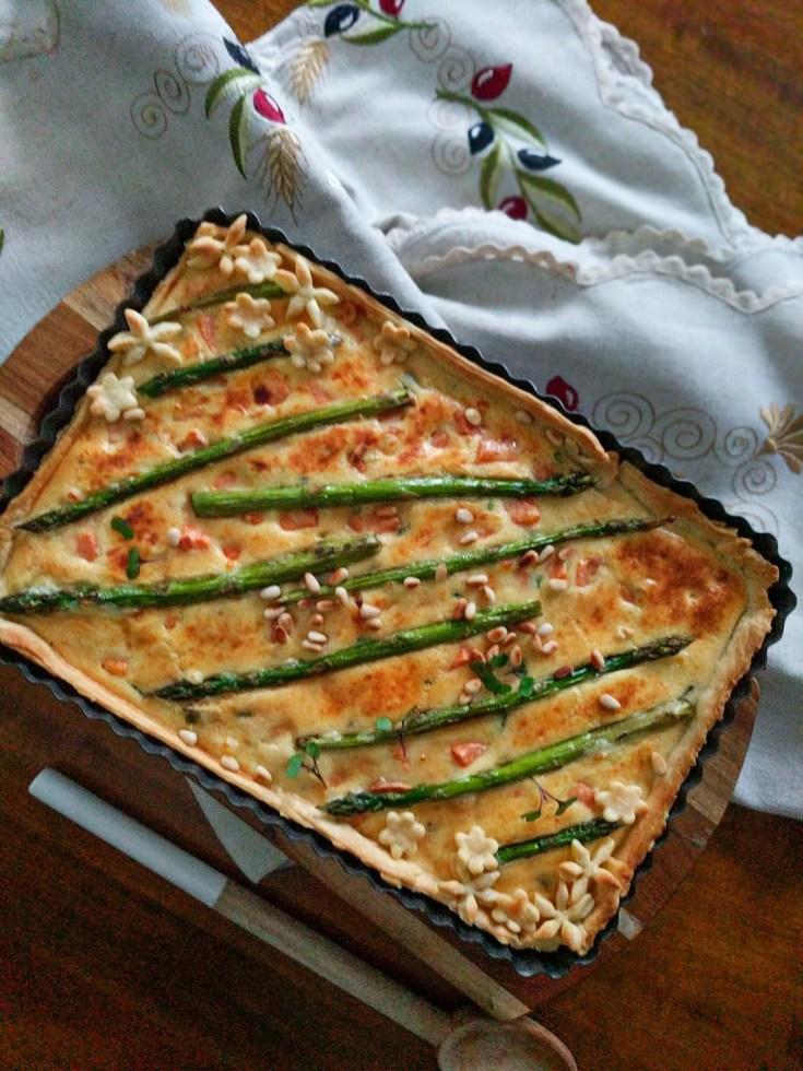 quiche vegetable