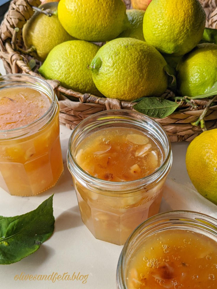 homemade lemon jam