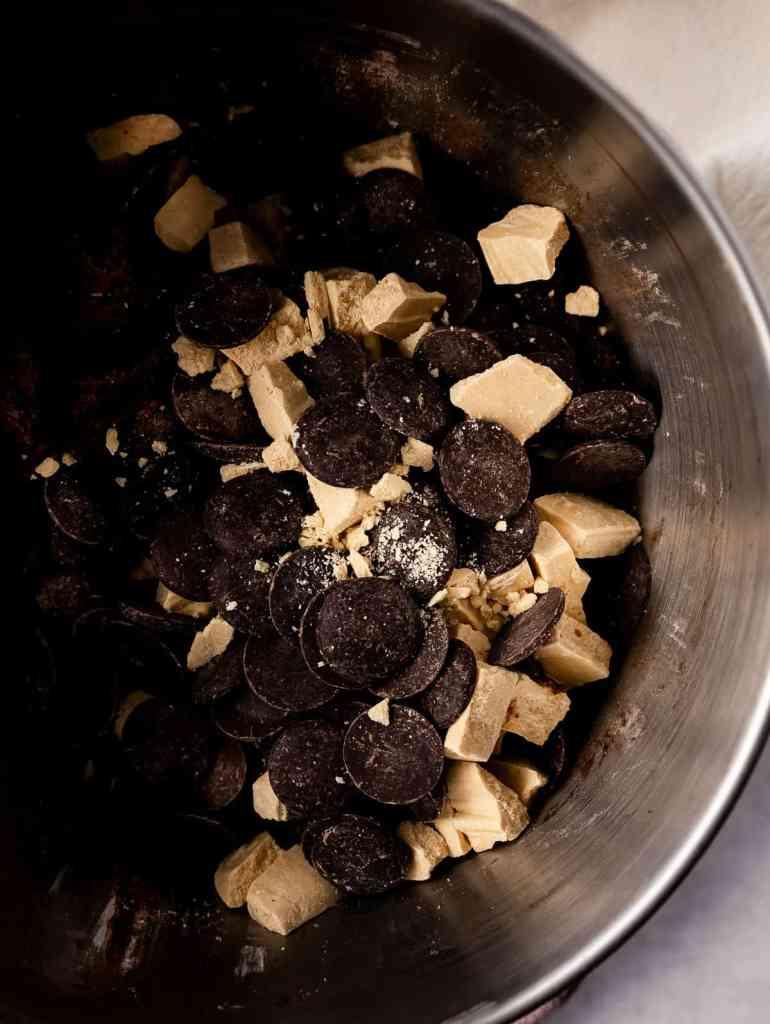 DOUBLE CHOCOLATE CHAI TAHINI COOKIES