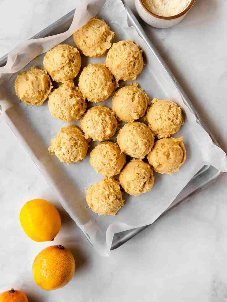 meyer lemon sugar cookies