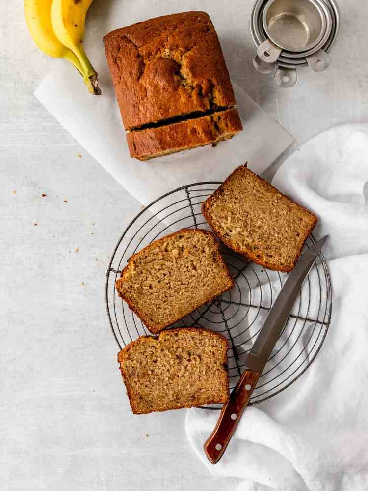 the perfect base banana bread