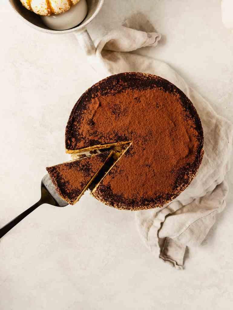 spiced pumpkin bourbon tiramisu