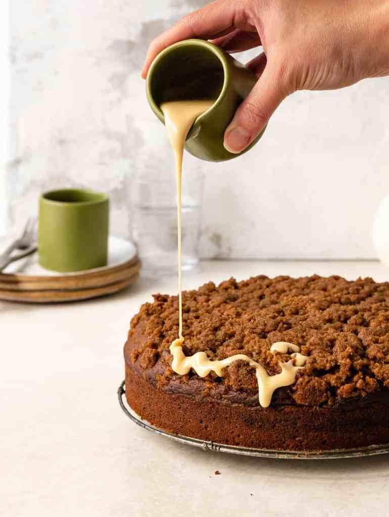 maple pumpkin coffee cake
