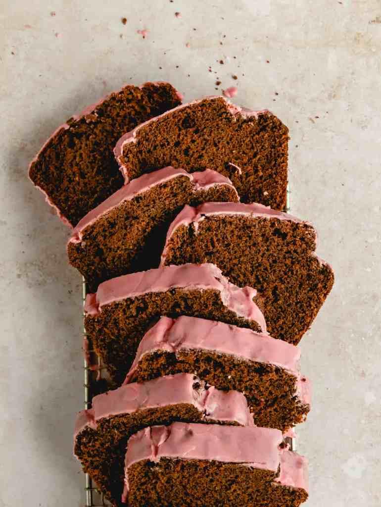 chocolate olive oil loaf cake
