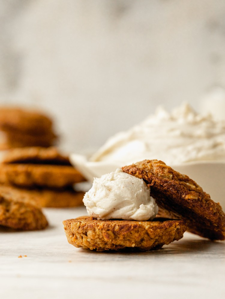 chewy carrot cake cookies