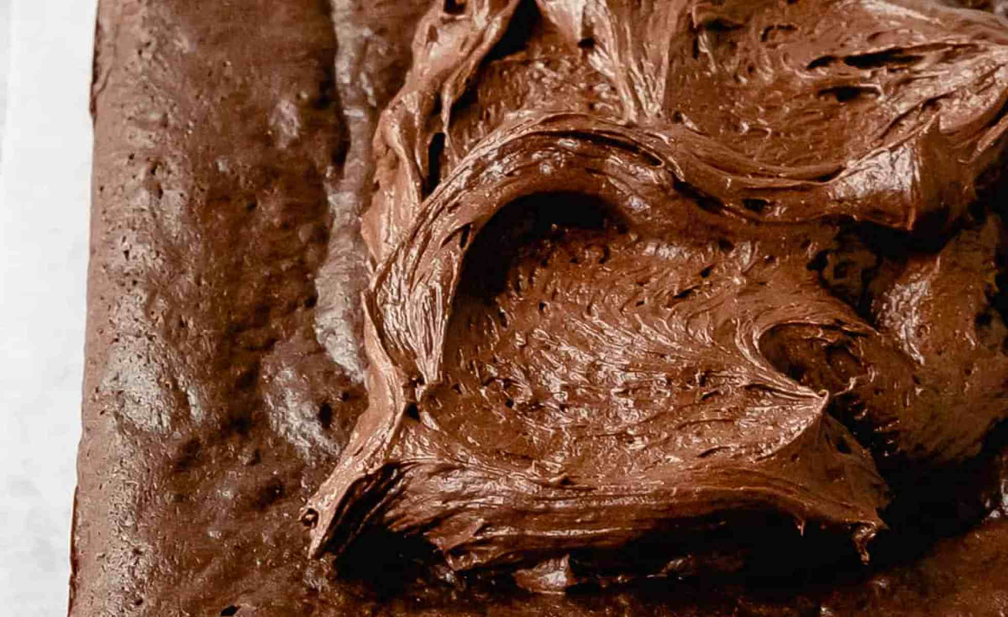 Guinness brownies with chocolate frosting