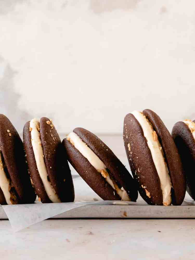 smores whoopie pies