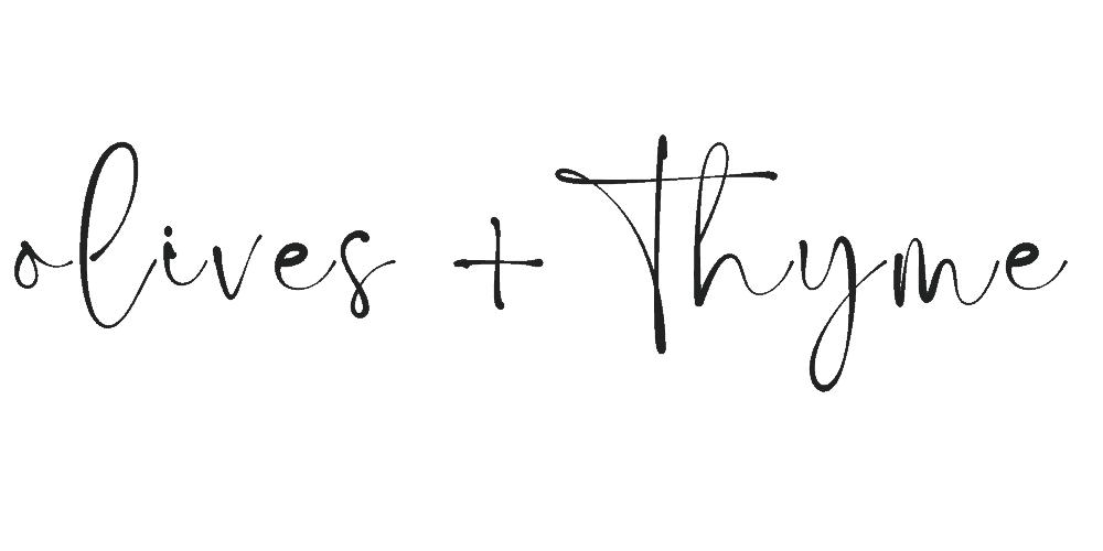 olives + thyme