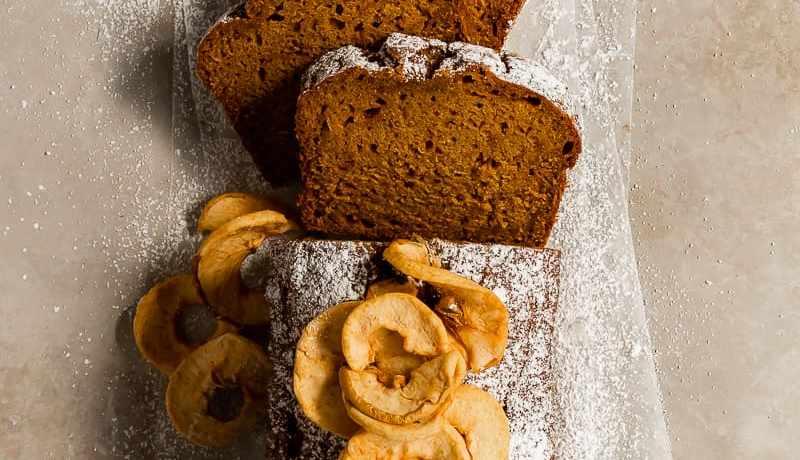 spiced pumpkin apple bread