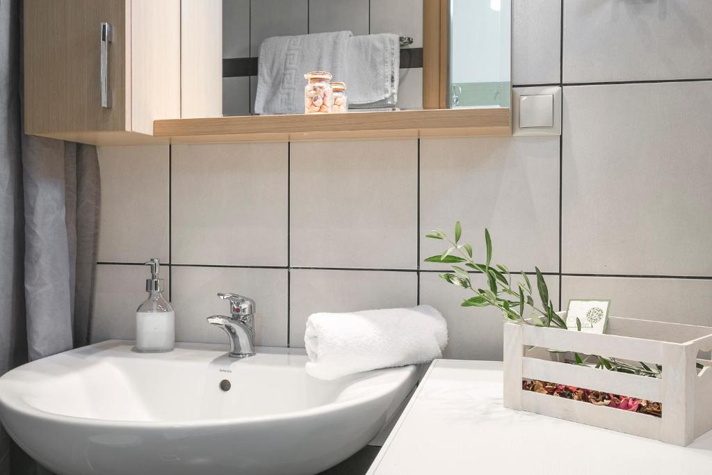 olivetree deluxe apartment bathroom