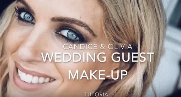 Makeup Tutorial: Wedding Guest Makeup With Olivia Cox & Candice