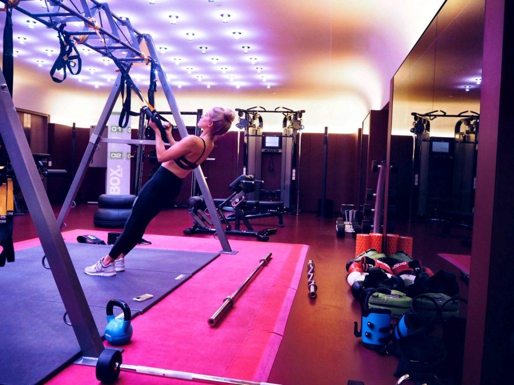 olivia cox, gym, training, luxury, hotel, suite, luxury hotel, london hotel, 5 star london hotel, 5 star, olivia cox, cafe royal, afternoon tea, spa, facial, massage, hotel cafe royal, fashion week, lfw, london