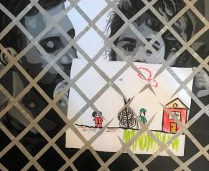 """Sin Palabras"" Técnica mixta sobre lienzo de 81x100cm"