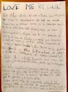 """""""Love Me"""" By Gabriela"""