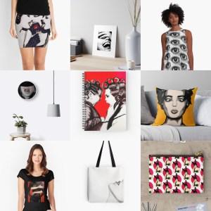Objetos con mis diseños