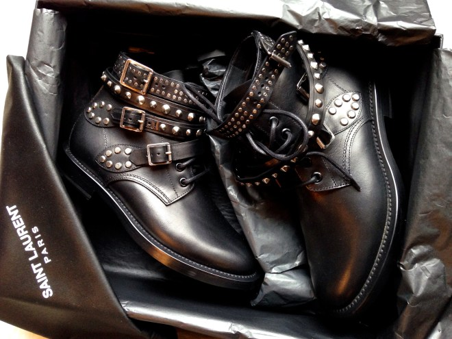 Saint Laurent_Ranger Boots_Studs