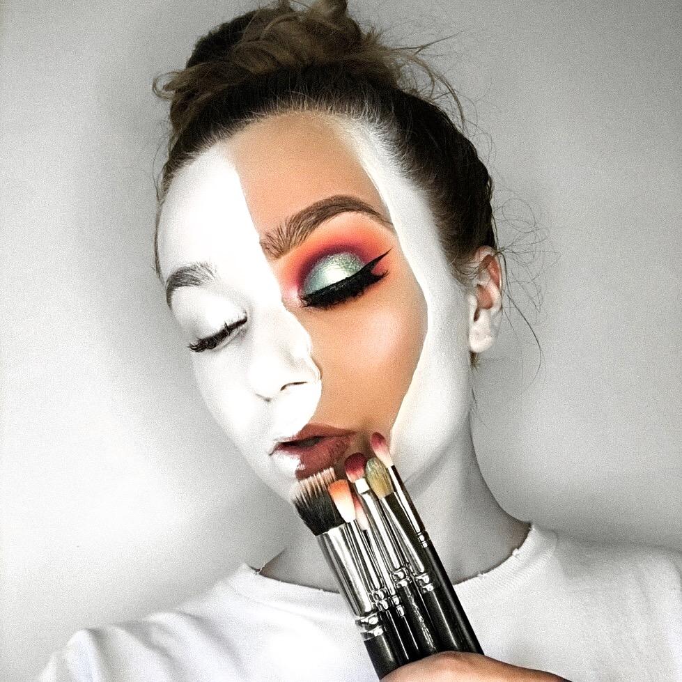 blank canvas makeup