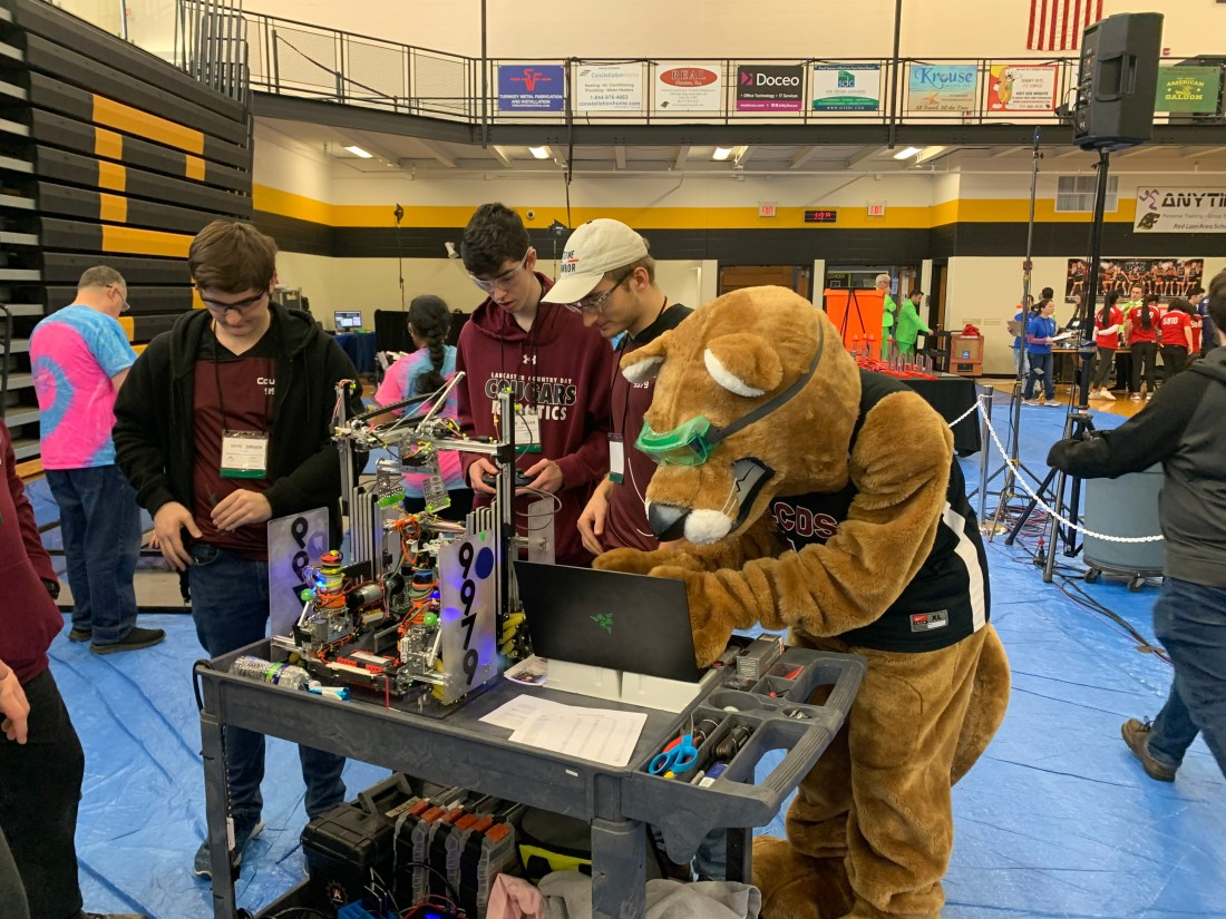 Lancaster Country Day School LCDS cougar robotics 1