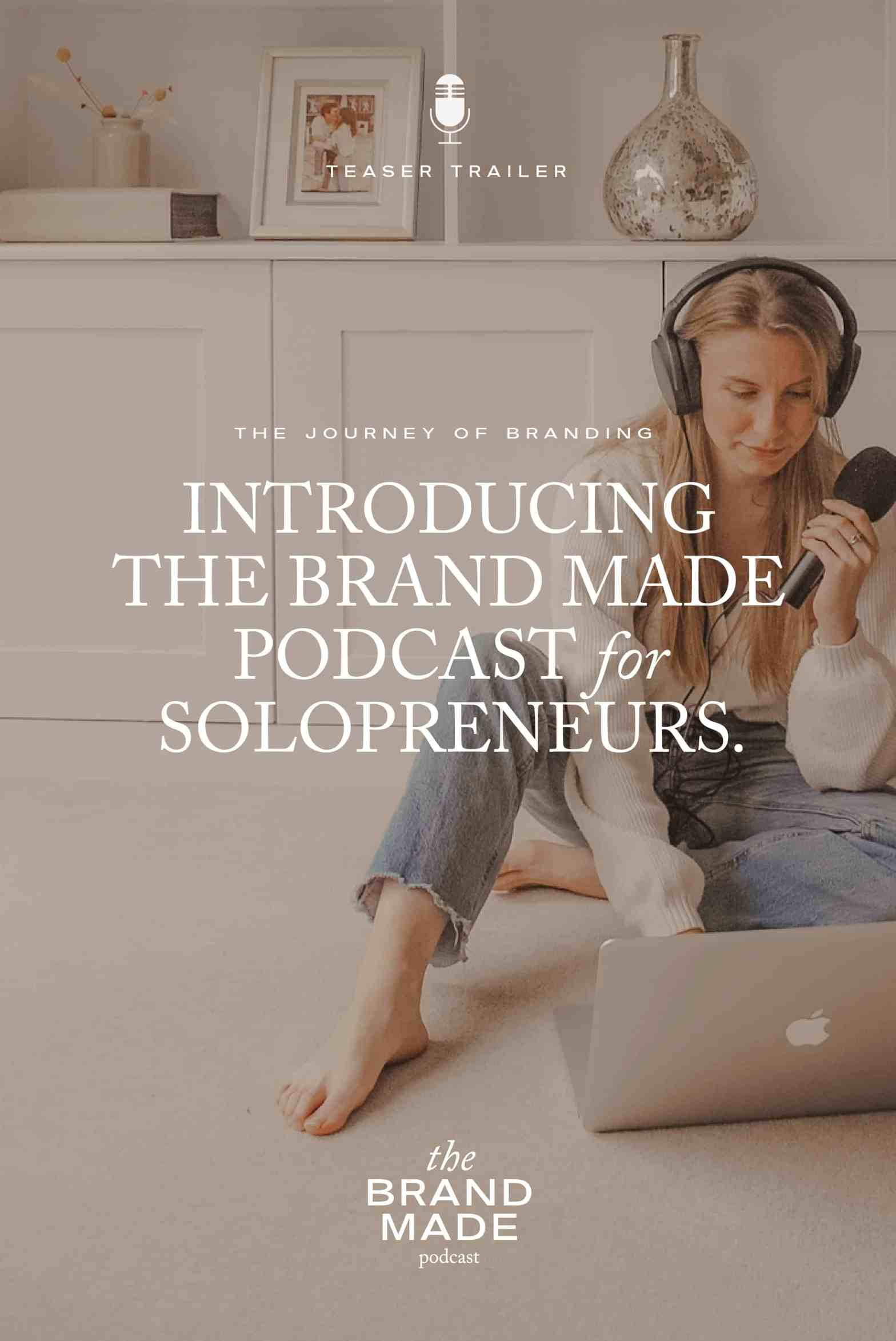 The BrandMade Podcast Promotional Image