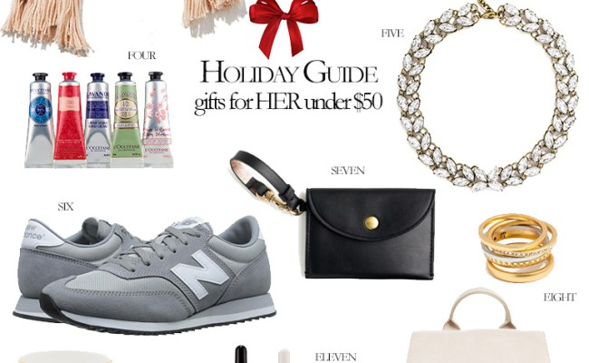 2016 Holiday Gift Guide Gifts For Her Under 50 Olivia