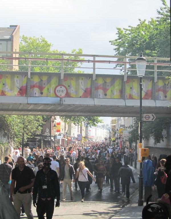 London's Notting Hill Carnival 2011