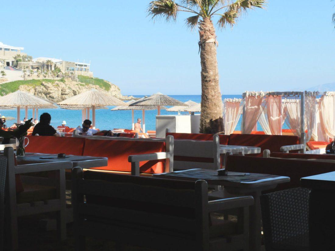 Olivia Leaves | Beaches of Mykonos | Paradise