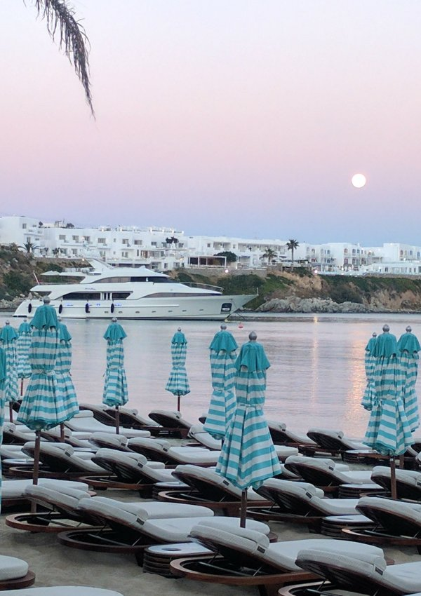 Olivia Leaves | Beaches of Mykonos