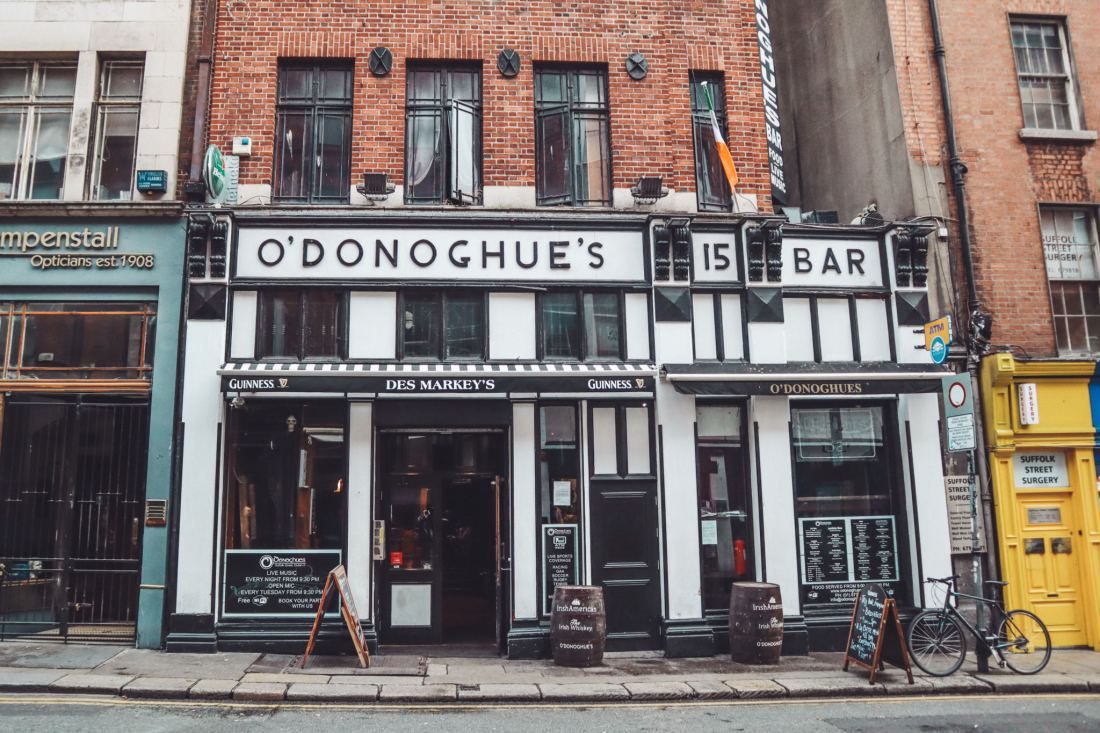 Olivia Leaves   Dublin Guide: Where to Drink