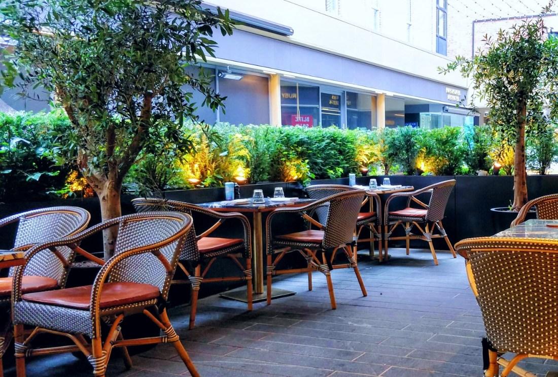 Restaurants with patios in Dublin