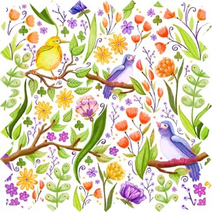 Pattern, animal, design, pattern, repeat, Olivia Linn Design