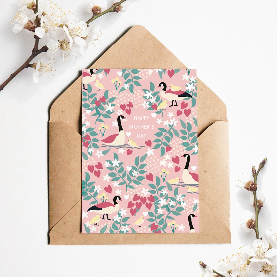Product shots, greeting card by Olivia Linn