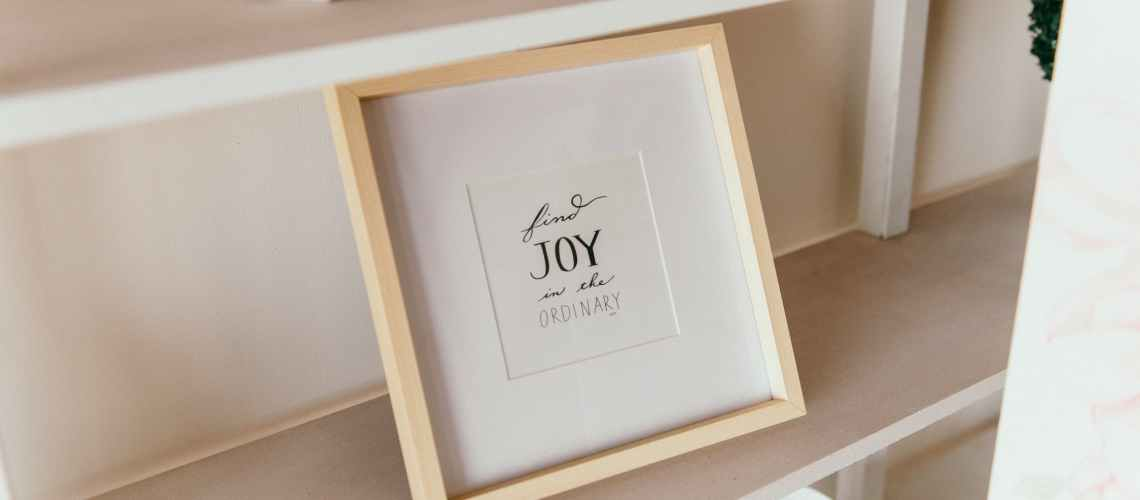 Finding Joy In Everyday