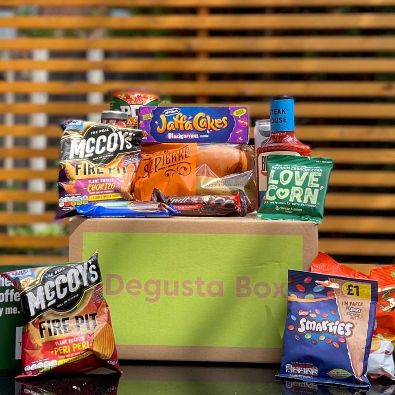 Degusta Box Review – Summer & Grazing