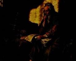 Paul en prison (Rembrandt)