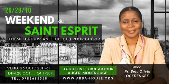 Weekend du Saint Esprit