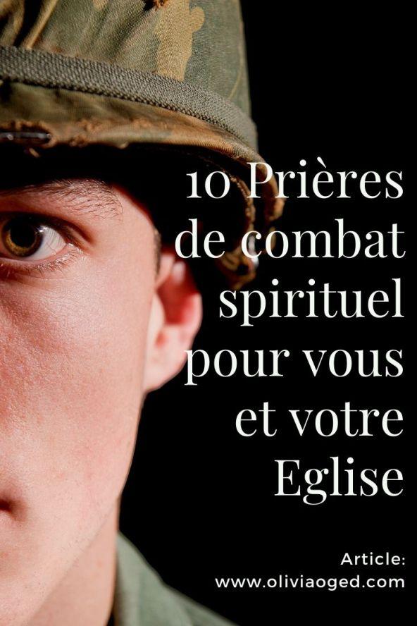 10 prières de combat spirituel pour vous et votre Eglise