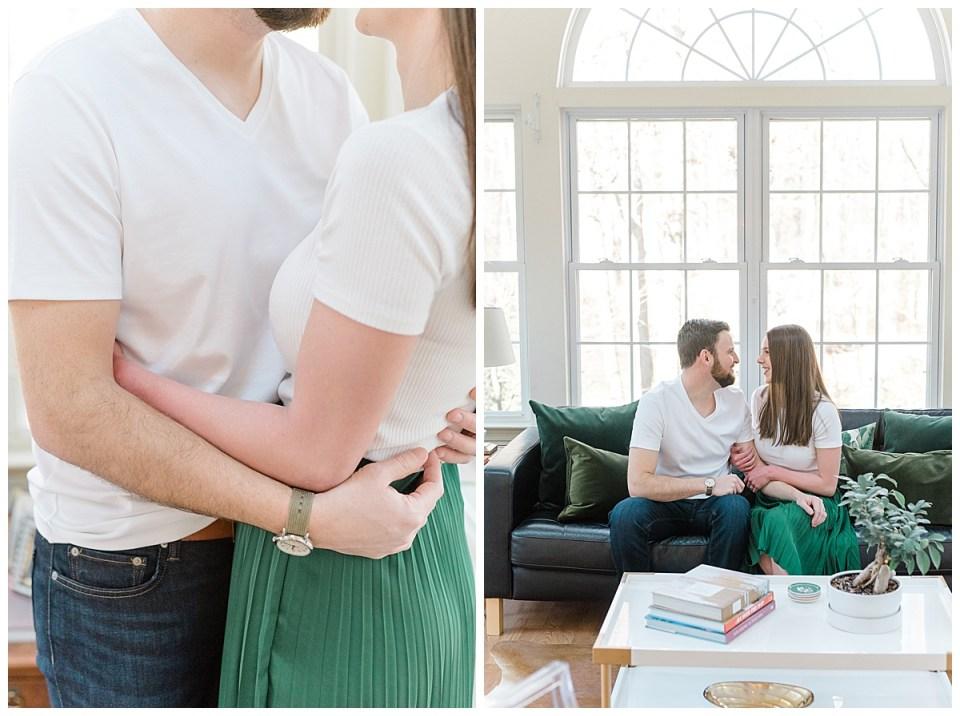 Indoor Lifestyle Family Session by Philadelphia Wedding Photographer Olivia Rae Photography