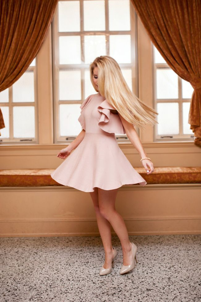 Soft Pink  Feminine Ruffles  Welcome to Olivia Rink