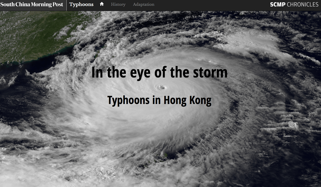 In the eye of the storm – South China Morning Post